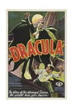 Dracula, 1931, Directed by Tod Browning Giclée-tryk