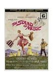 "Rodgers And Hammerstein's ""The Sound of Music"" 1965, Directed by Robert Wise Giclée-tryk"