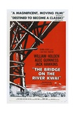 The Bridge On the River Kwai, 1957, Directed by David Lean Gicléedruk
