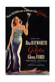 Gilda, 1946, Directed by Charles Vidor Reproduction procédé giclée