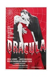 Dracula, 1931, Directed by Tod Browning Impressão giclée