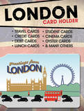 Greetings From London Card Holder Novelty