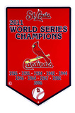 St. Louis Cardinals Banner Tin Sign Blikskilt