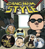Psy Badge Pack Chapa