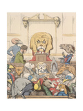 Aesop Fables Giclee Print by C.H. Bennett