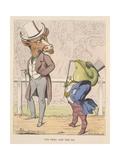 Aesop Fables Lámina giclée por C.H. Bennett