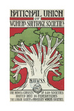 Women's Suffrage Societies Giclee Print