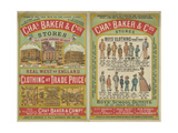 Chas Baker and Co. Stores Stampa giclée