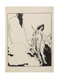 The Fourth Tableau Of the Rhinegold Impressão giclée por Aubrey Beardsley