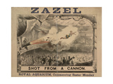 Madame Zazel Shot From a Cannon Giclee Print