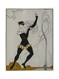 Designs On the Dances Of Vaslav Nijinsky Giclee Print by Georges Barbier