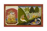 Ganesha Blessing This Endeavour Lámina giclée