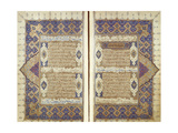 Pages From a Qur'an Giclée-tryk