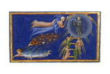 Dante and Beatrice Ascending To the Heaven Of Saturn Giclee Print by Dante Alighieri