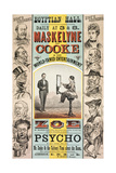 Maskelyne and Cooke's Entertainment at the Egyptian Hall Giclee Print by Henry Evanion