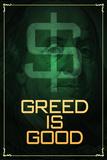 Wall Street Movie Greed is Good Arte