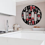 Are You There Wine Red Wall Decal Adesivo de parede