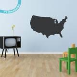 USA Chalkboard Wall Decal Adesivo de parede