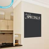 Daily Specials Chalkboard Wall Decal Adesivo de parede