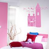 Princess Castle bubblegum Wall Decal Adesivo de parede