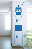 Find Your Way Home Lighthouse Azure Wall Decal Adesivo de parede