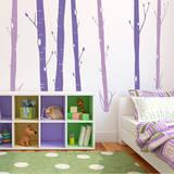 Aspen Woods Violet Wall Decal Adesivo de parede