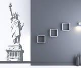 Statue of Liberty Grey Wall Decal Adesivo de parede