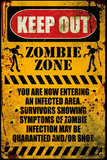 Zombie - Keep Out Prints