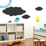 Clouds Chalkboard Wall Decal Adesivo de parede