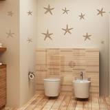 Stunning Starfish, Large Light Brown Wall Decal Adesivo de parede