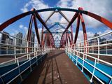 The Detroit Bridge Fotografisk tryk af Craig Roberts
