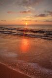 Sunrise on the Eastern Shore of Kauai Fotografisk trykk av Vincent James