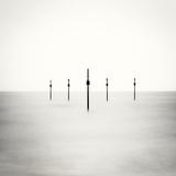 Posts, Shoreham, West Sussex Fotografisk tryk af Craig Roberts