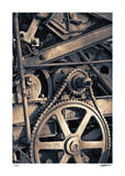Gears 2 Giclee Print by Donald Satterlee