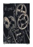 Gears 1 Giclée-Druck von Donald Satterlee