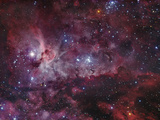 NGC 3372, the Eta Carinae Nebula Photographic Print by Stocktrek Images