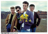 The Smiths Flowers Manchester 1983 Posters