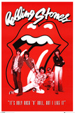 Rolling Stones It's Only Rock n Roll Poster