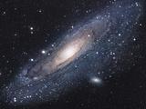 Andromedan galaksi Valokuvavedos tekijänä Stocktrek Images