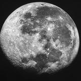 The Moon Photographic Print by Stocktrek Images