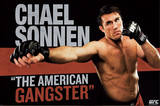 UFC - Chael Sonnen Sports Poster Posters