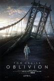Oblivion (Tom Cruiz, Morgan Freeman, Andrea Risenborough) Movie Poster Posters
