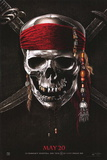 Pirates of the Caribbean: On Stranger Tides (Johnny Depp, Penelope Cruz, Geoffrey Rush) Movie Plakater