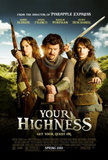 Your Highness (Natalie Portman, James Franco) Movie Poster Poster