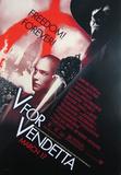 V For Vendetta Movie Poster Affiches