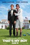 That's My Boy (Adam Sandler, Adam Shamberg) Movie Poster Plakater