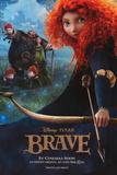 Brave (Princess Merida) Disney-Pixar Movie Poster Affiches
