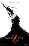 World War Z (Brad Pitt, Mireille Enos, Daniella Kertesz) Movie Poster Kunstdruck