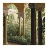 Jardin Portique No. 2 Prints by Alan Blaustein