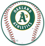 Oakland A's Tin Sign Tin Sign